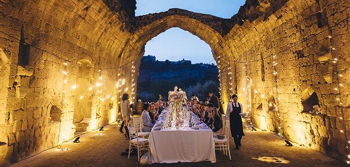 A magic wedding in Orvieto, Umbria Countryside