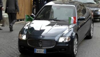Auto blu, nel Lazio sono il doppio di quelle della Lombardia