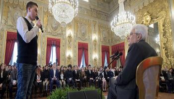 """Il Capo dello Stato italiano Sergio Mattarella ha nominato 29 giovani """"Alfieri della Repubblica"""""""