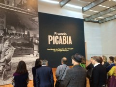 CIMA members enjoying a private tour of Picabia, led by Assistant Curator Talia Kwartler.