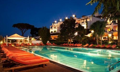 Capri Palace Hotel, Anacapri Italie