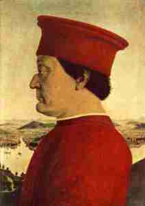 The Duke of Montefeltro, a symbol of Le Marche