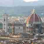 Panorama of Florence Duomo from San Miniato al Monte