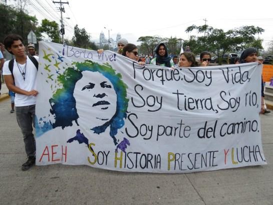 Manifestazione a Tegucigalpa (Foto G. Trucchi   Rel-UITA)