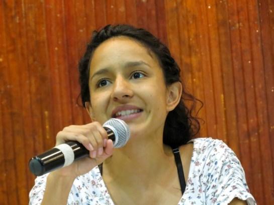Bertha Zúniga Cáceres (Foto G. Trucchi   Rel-UITA)