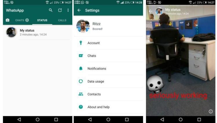 WhatsApp è al lavoro su una funzione simile a Snapchat Stories