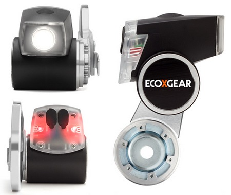 ECOXGEAR ECOXPOWER Pedal-powered Headlight and Mobile Device Charger items