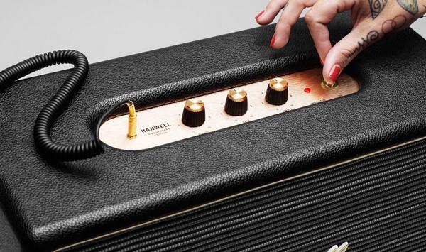 Marshall Hanwell Anniversary Edition Speaker controls
