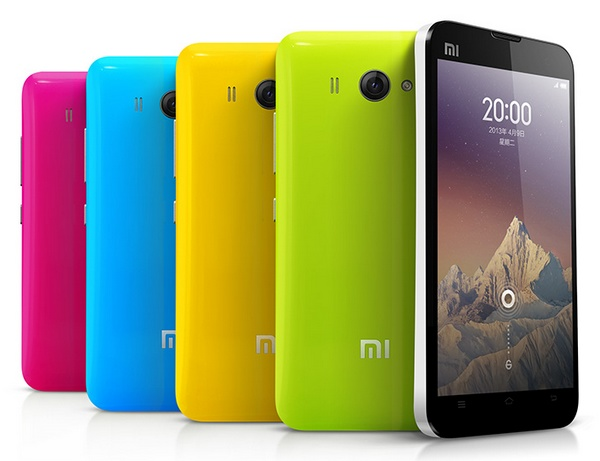 Xiaomi Phone MI-2S Android Phone colors