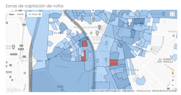 NETELECTIONS dónde captar votos