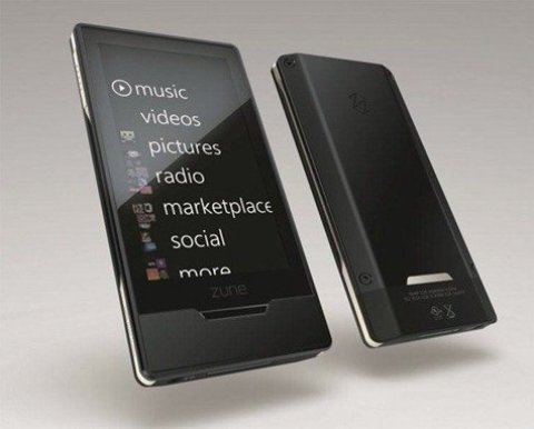 Black Zune HD