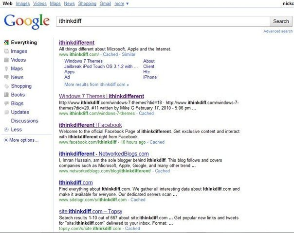 Google has a new search results UI in the works. Here is how it currently looks like: