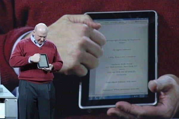 Microsoft Windows 7 on a Slate