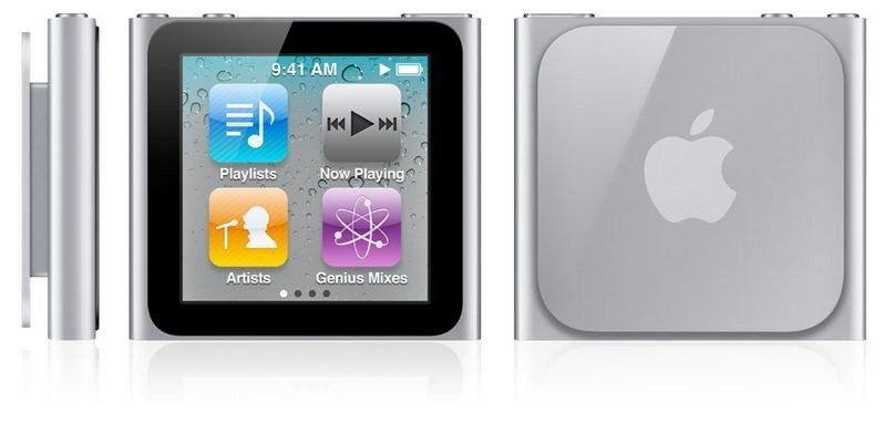 iPod Nano 6G Code Reveals Possible Video Playback Support