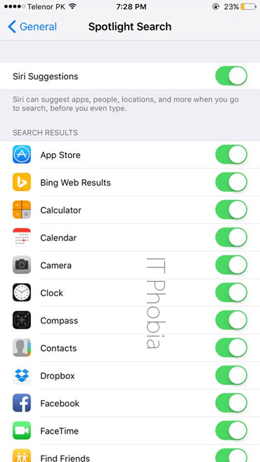 iOS 9 Battery Drain Spotlight Search