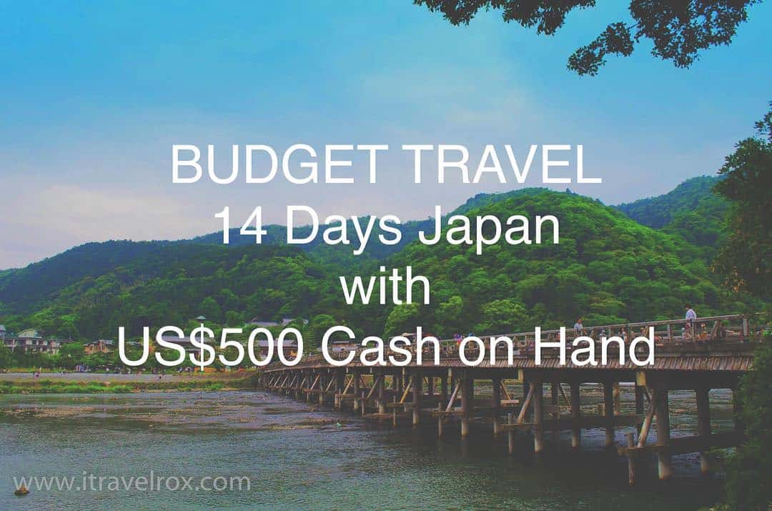 Up on the blog itravelrox Budget Travel 14 Days Japanhellip