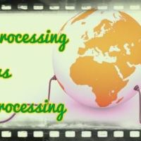 Difference between batch and online processing systems