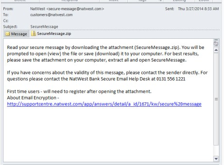 NatWest Secure Message2