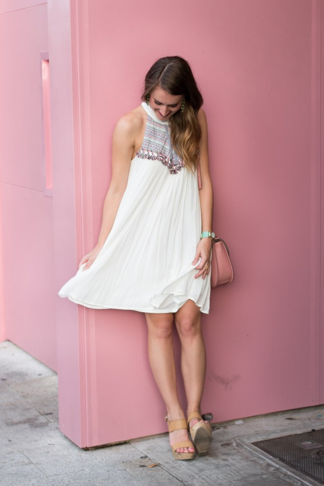 A fringe dress that is perfect for Summer   It's All Chic To Me