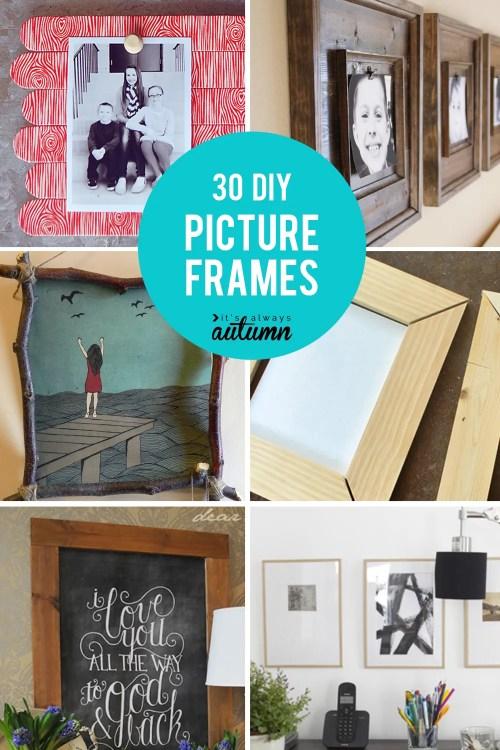 Medium Of Diy Picture Frame