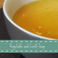 Winter Warmer - Vegetable and Lentil Soup