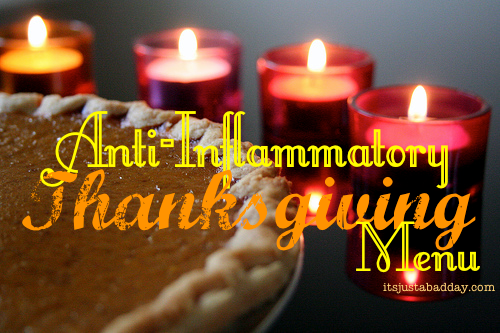 Chew On This: An Anti Inflammatory Thanksgiving