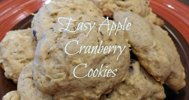 AppleCranberryCookies