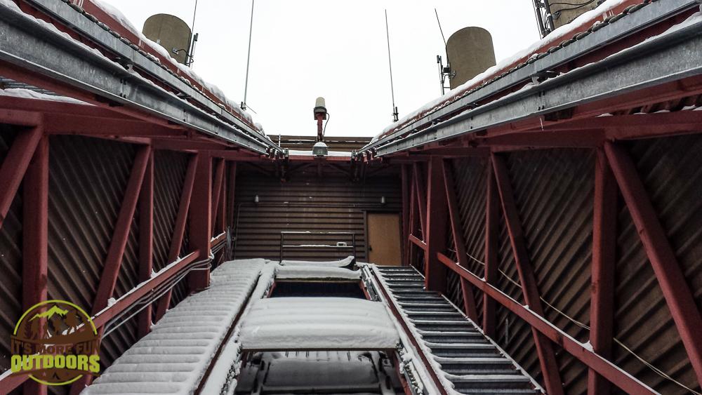 It goes HIGHER?!?!?! Exploring the Olympic Ski Jump, Lake Placid, NY 2.14.15