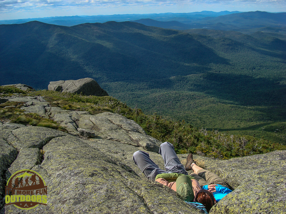 A Summer summit of Wright Peak in the Adirondack Mountains of NY. August 7, 2010