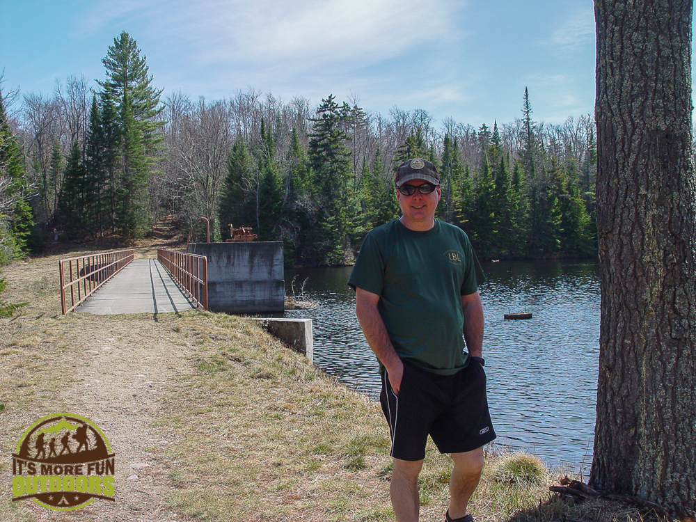 The put in at Low's Lower Dam. 2015 BOG RIVER FLOW-1-3