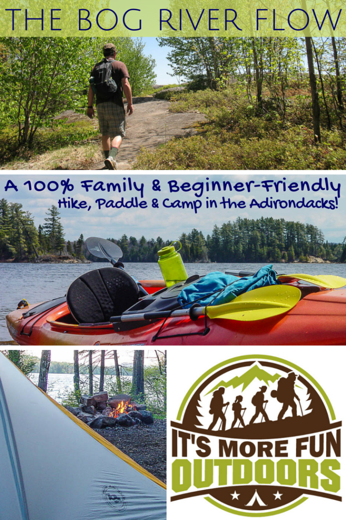 The Bog River Flow: Kayak Camping at Hitchins Pond, Bog River, Low's Lake, Adirondacks, NY