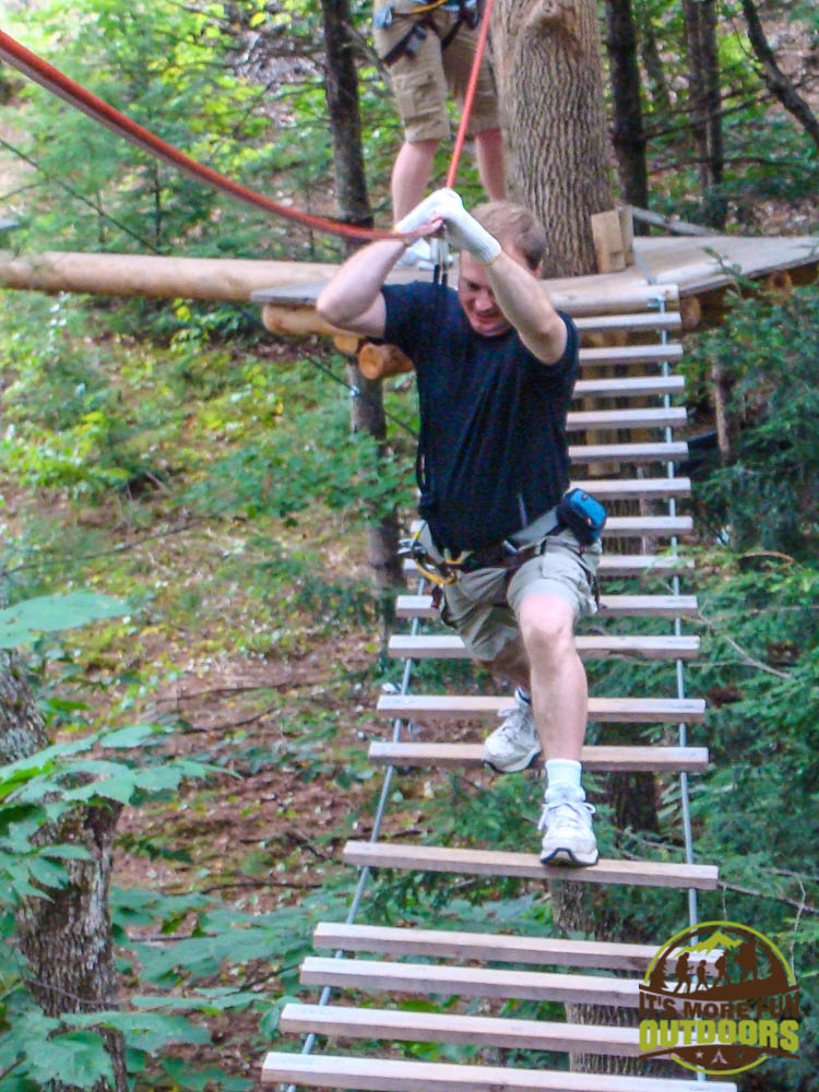 Adirondack Extreme Treetop Obstacle Zipline Course in Bolton Landing/Lake George area,  upstate NY!