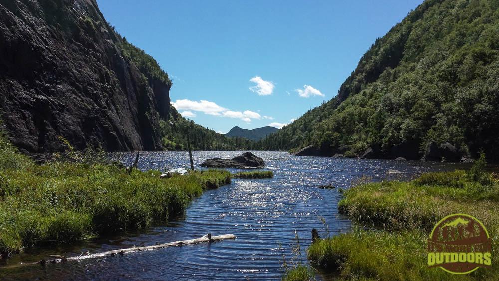 Avalanche Lake via Avalanche Pass, a must-do, 10-mile round trip hike which begins at the Adirondak Loj, Lake Placid, Adirondacks, NY