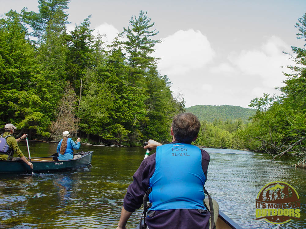 On a paddling trip with a few of ADK's amazing staff. This trip was part of a training I did to help monitor our waters for invasive plant species. I learned a ton and had a great time!