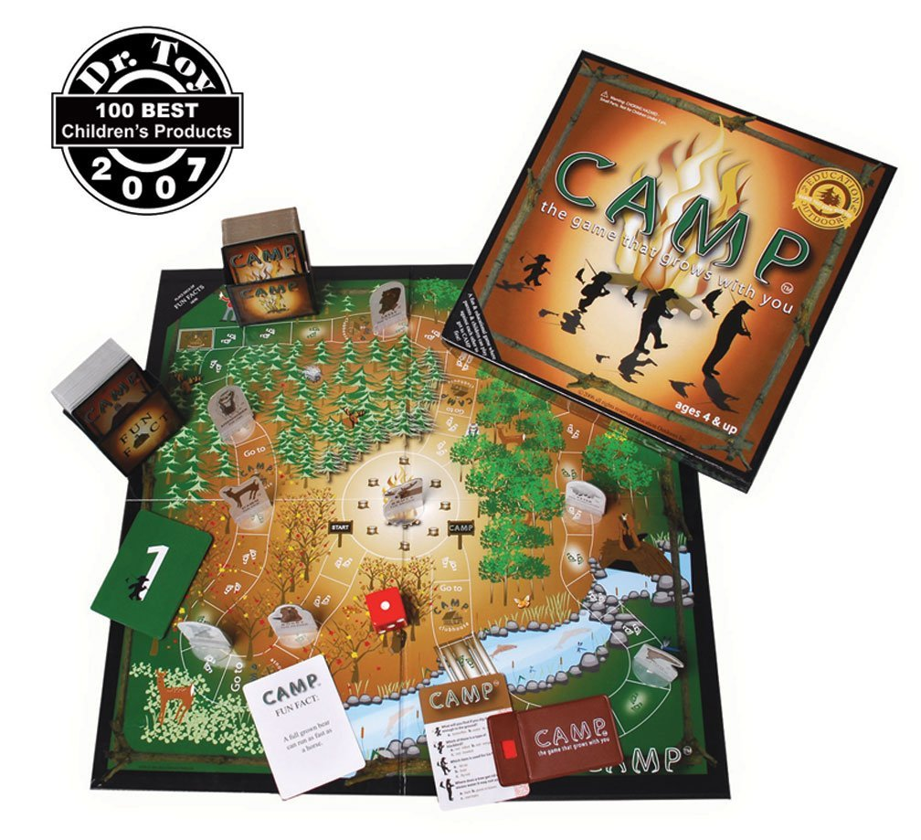 CAMP Game: A family game night favorite in our home!
