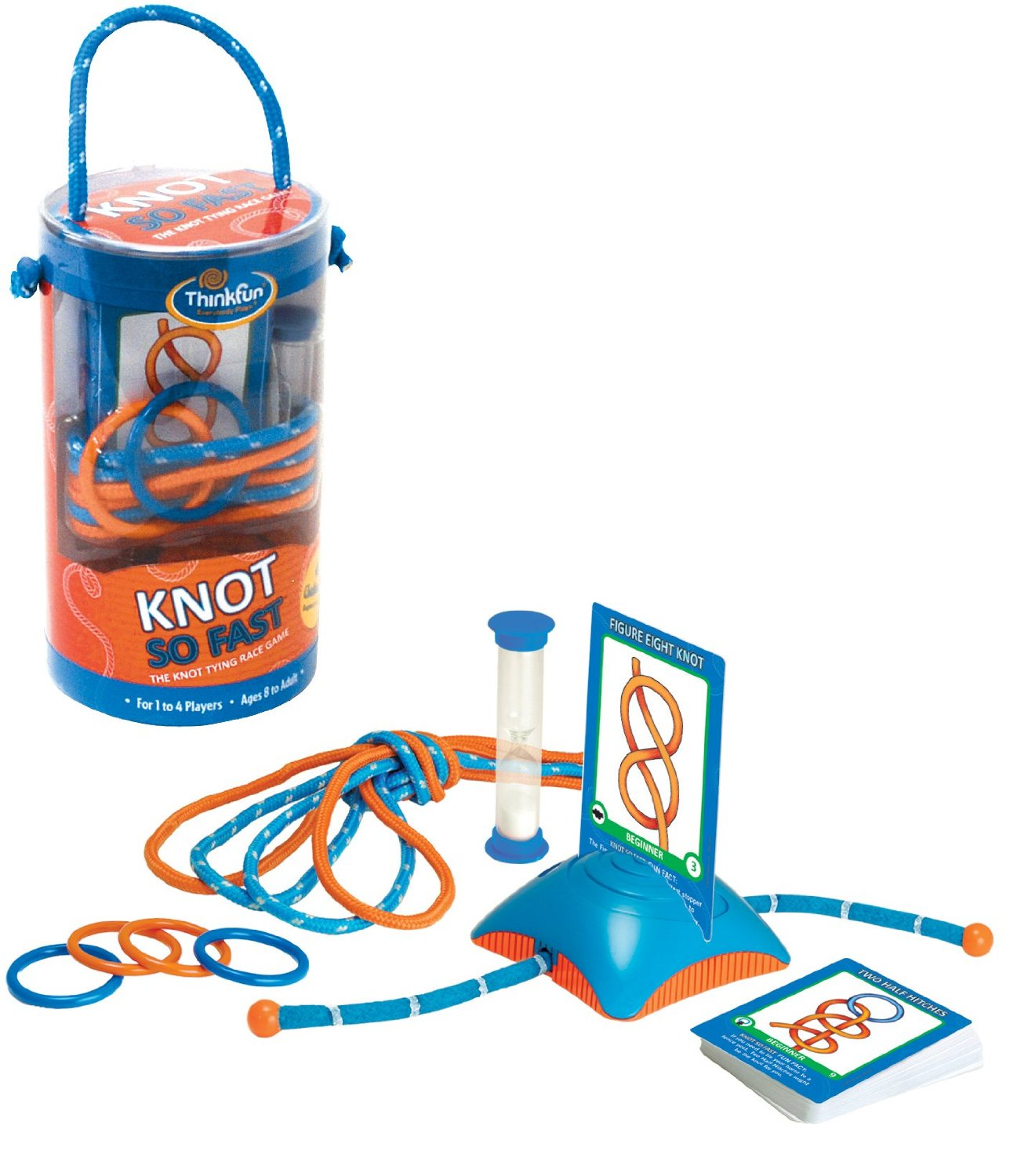 KNOT so Fast: Learn valuable outdoor skills on family game night!