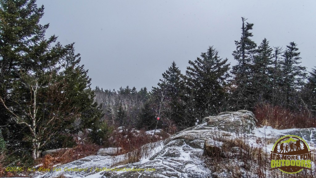 A snowy summit, my favorite! February 5, 2016 Black Mountain: My First SOLO Winter Fire Tower Challenge Hike!