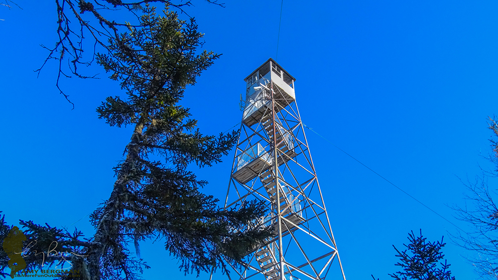 The Fire Tower on Goodnow Mountain has some of the best views anywhere in the Adirondacks! 2/22/16: Goodnow Mt. Winter Fire Tower Challenge Hike!