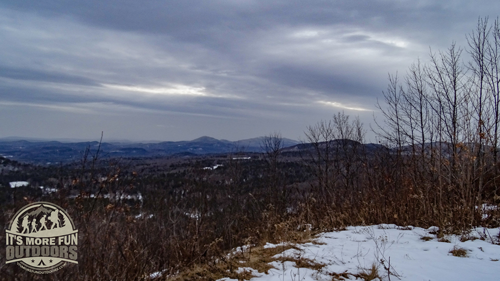 Lovely views even if you don't climb the fire tower! 2/15/2016: Belfry Mountain Winter Fire Tower Challenge Hike!