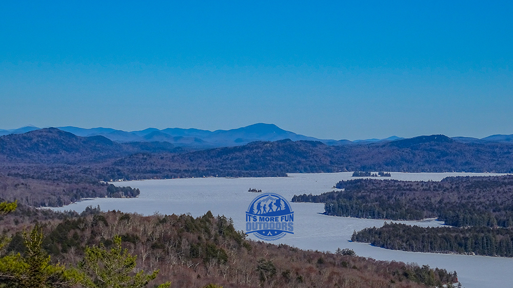 EXCELLENT views of the Fulton Chain of Lakes! 3/5/2017: Bald (Rondaxe) Mountain Winter Fire Tower Challenge Hike!