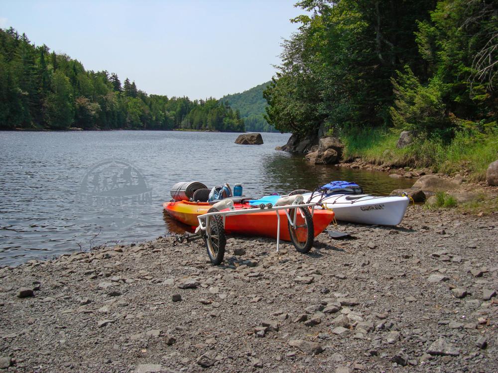Canoe access at Henderson Lake. Henderson Lake Kayak Camping, Tahawus Hike!