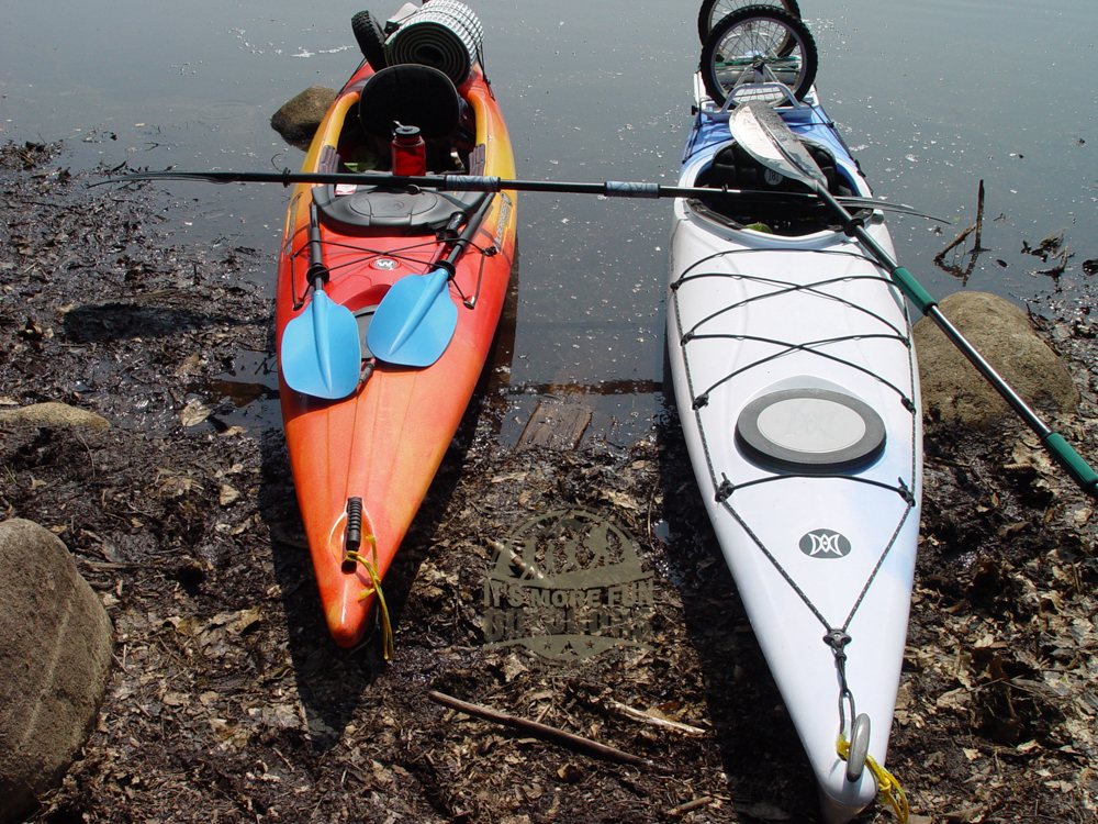 Mucky take out at the Henderson Lake Lean To! Henderson Lake Kayak Camping, Tahawus Hike!