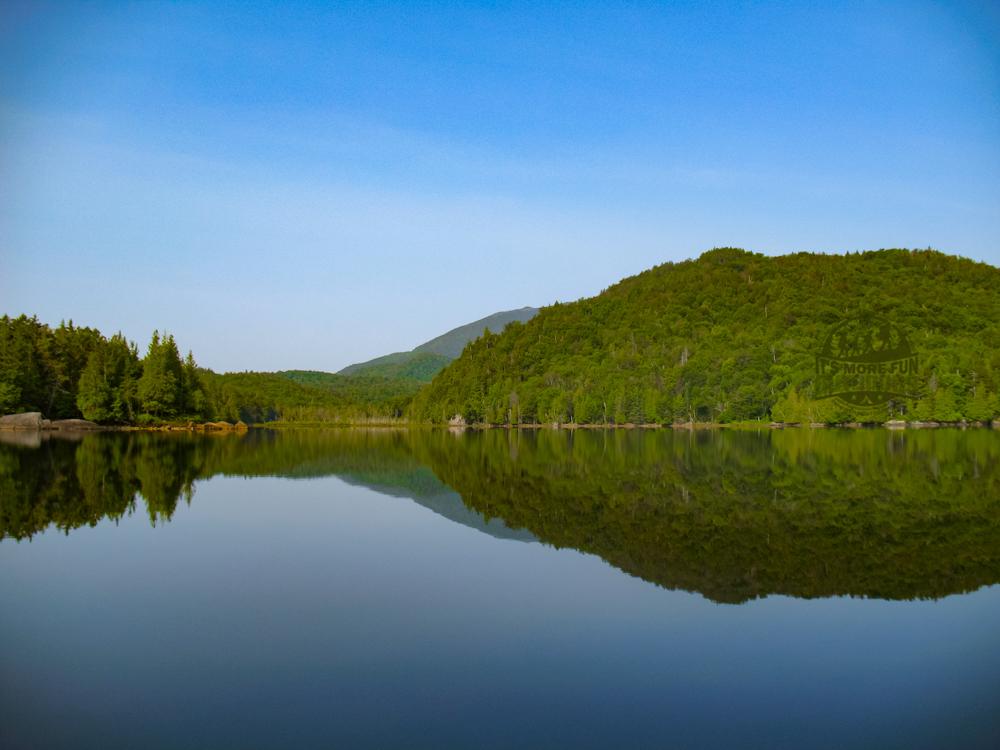 Henderson Lake Kayak Camping, Tahawus Hike!