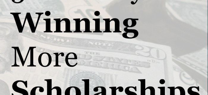 5 Sure Keys to Winning More Scholarships
