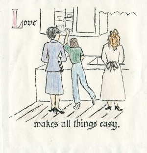 love makes all things easy - updated cbedenbaugh