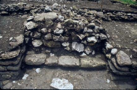 Nixtun-Chich, Str QQ 1/1-1 central altar (photo by Timothy Pugh)
