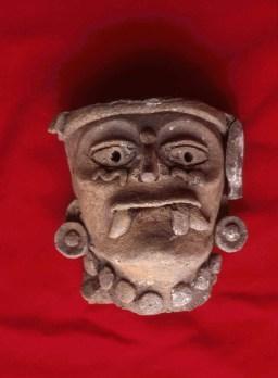 Zacpeten, Str 766, Cache 3, one of two censer heads