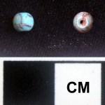 T29, Unit 2003,1308, Level 1, turquoise bead