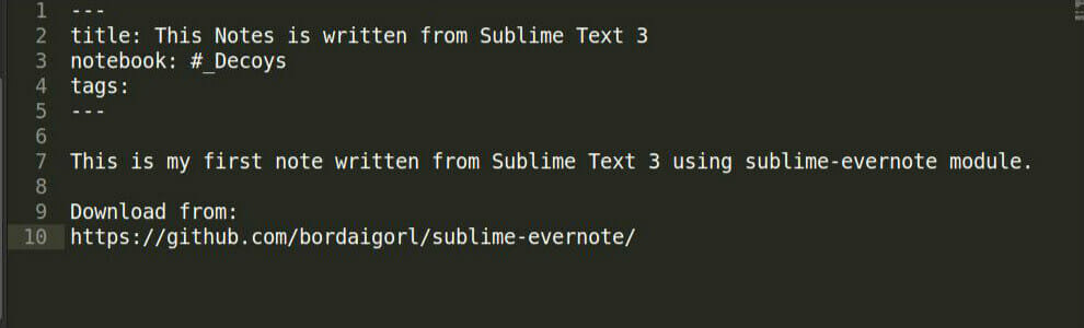 sublime-evernoteedited