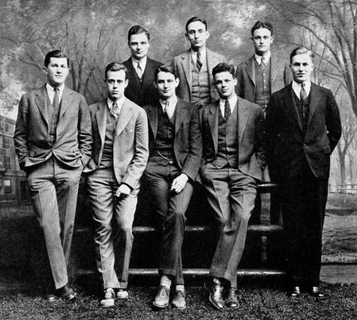 whiffenpoofs 1927